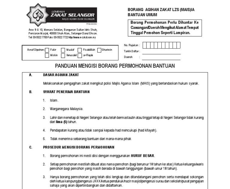 Zakat Selangor Bantuan Perkahwinan Author On I