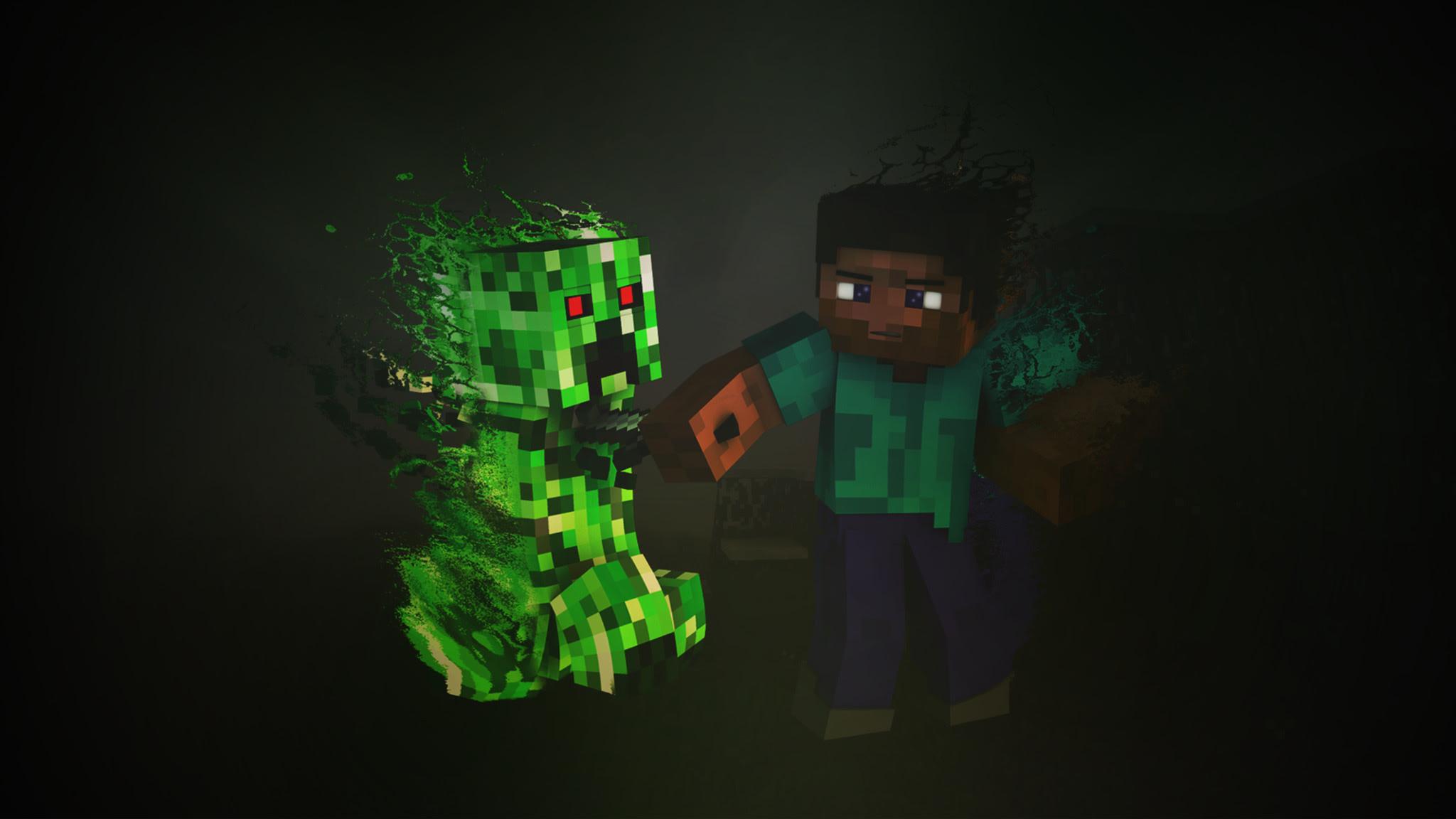 2048x1152 Minecraft
