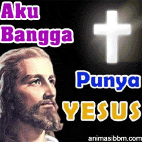 animasi dp display picture bbm bergerak salib kristen