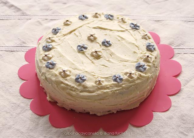 Citrus sponge cake