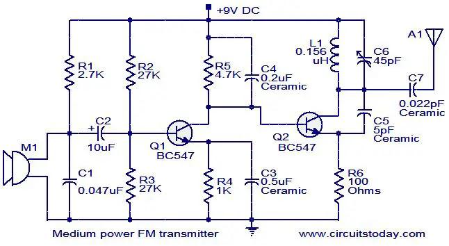 fm-transmitter-circuit