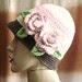 Garden Cap com flor