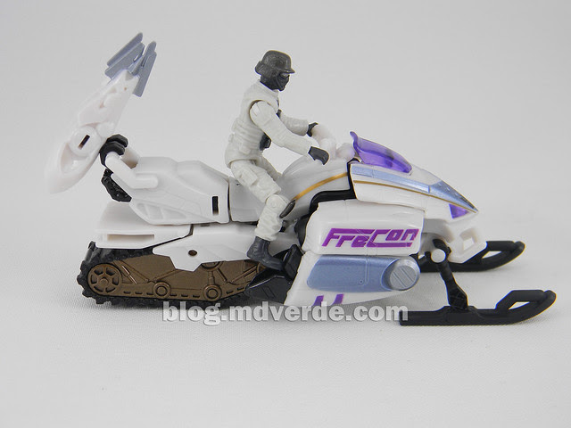 Transformers Icepick DotM Human Alliance - modo alterno