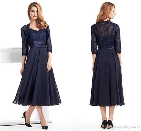 2016 Vintage Mother of the Bride Dresses Sweetheart Navy