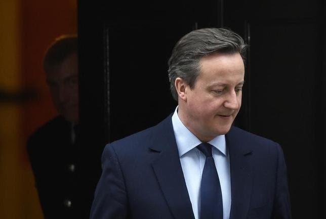 Britain's Prime Minister David Cameron at Number 10 Downing Street in London, Britain January 25, 2016. REUTERS/Toby Melville