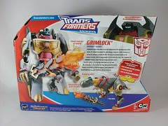 Transformers Grimlock Animated Voyager - caja (by mdverde)
