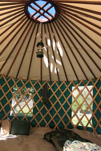 My Yurt at Cache Creek