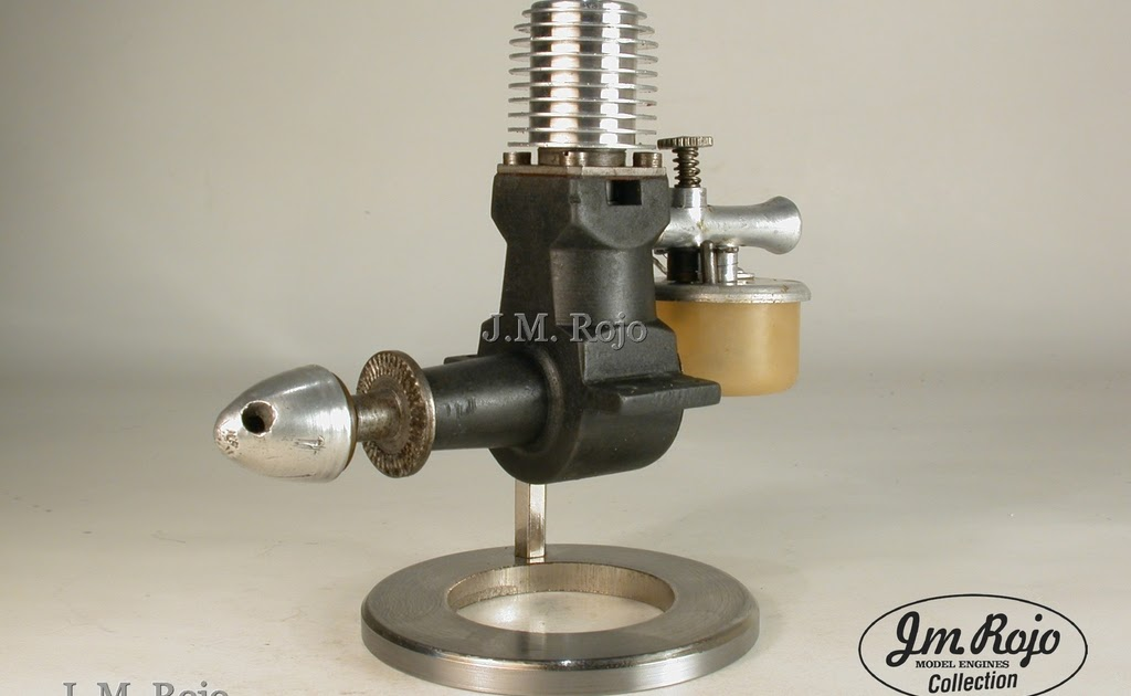 Vintage Model Airplane Engines Running: Mills1.3cc MKII