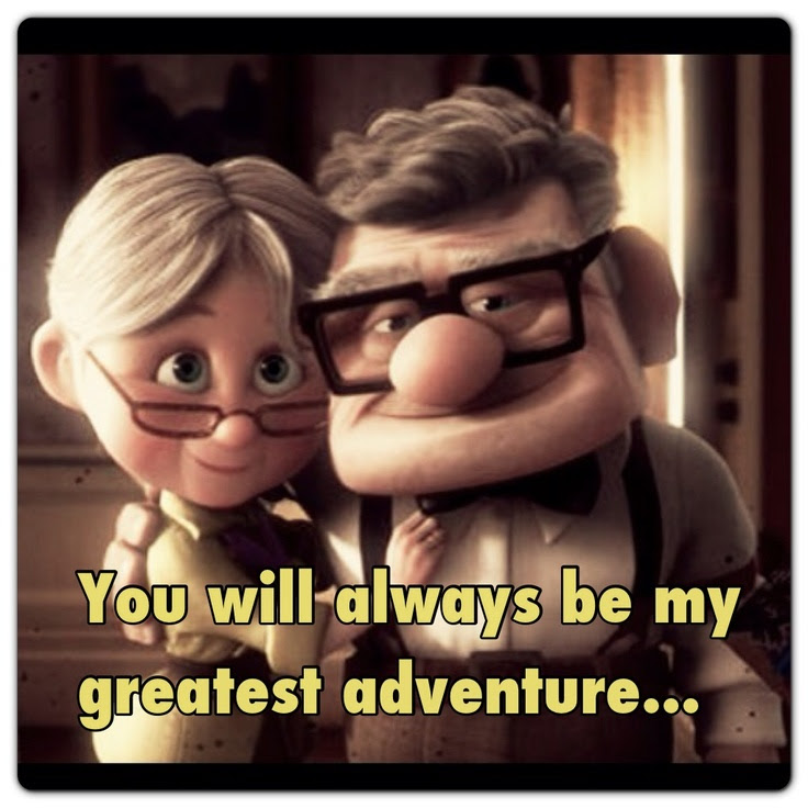 Love Quotes From Movie Up Love Quotes Images