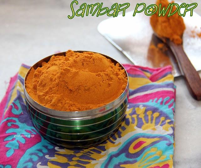 Sambar Podi 001