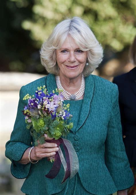 Camilla Parker Bowles in Camilla Parker Bowles Plants a