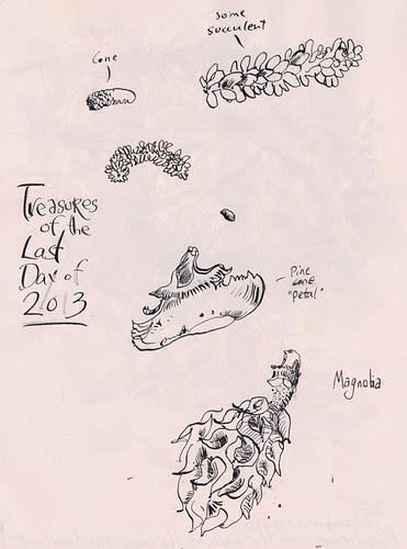 Last Sketch of 2013. by apple-pine