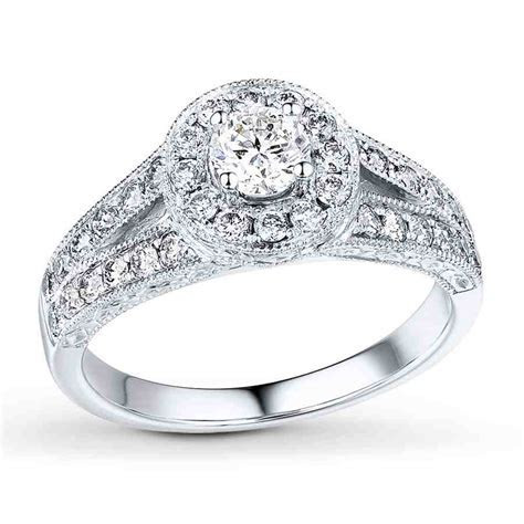 Cheap 14k White Gold Engagement Rings   Wedding and Bridal