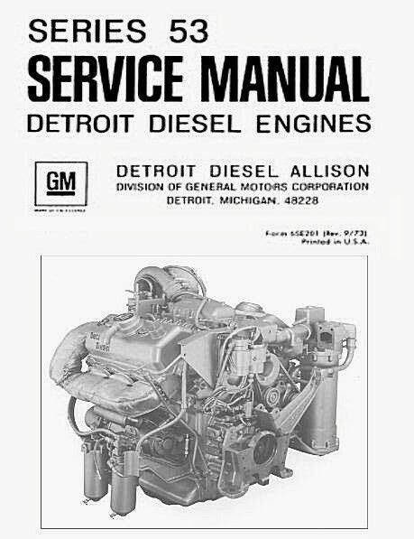 Detroit Diesel Series 53 Allison 6v-53 Repair Service