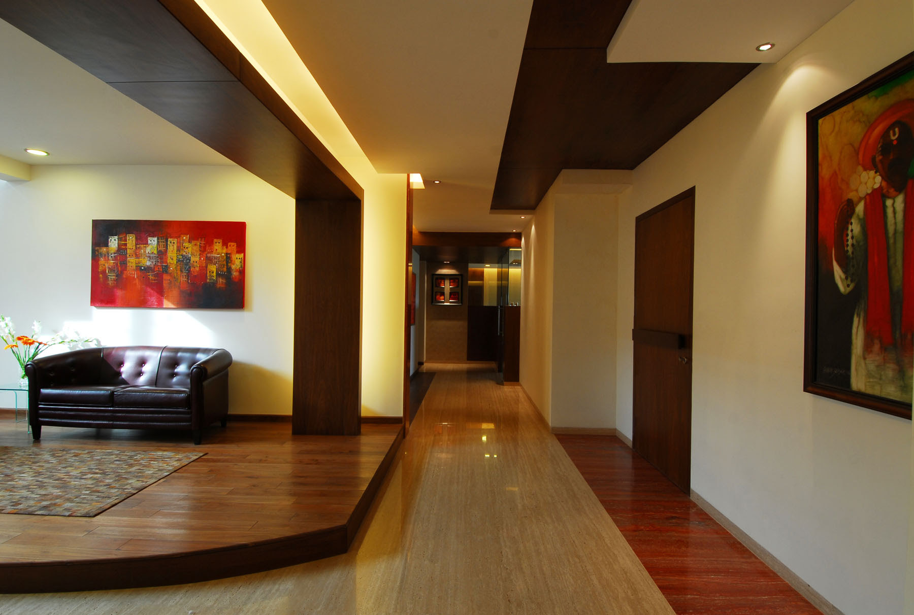 Bangalore Duplex Apartment by ZZ Architects   HomeDSGN, a daily ...