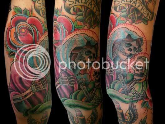 skeleton mary and jesus shuan nel