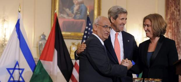Conversaciones Israel-Palestina en EE UU