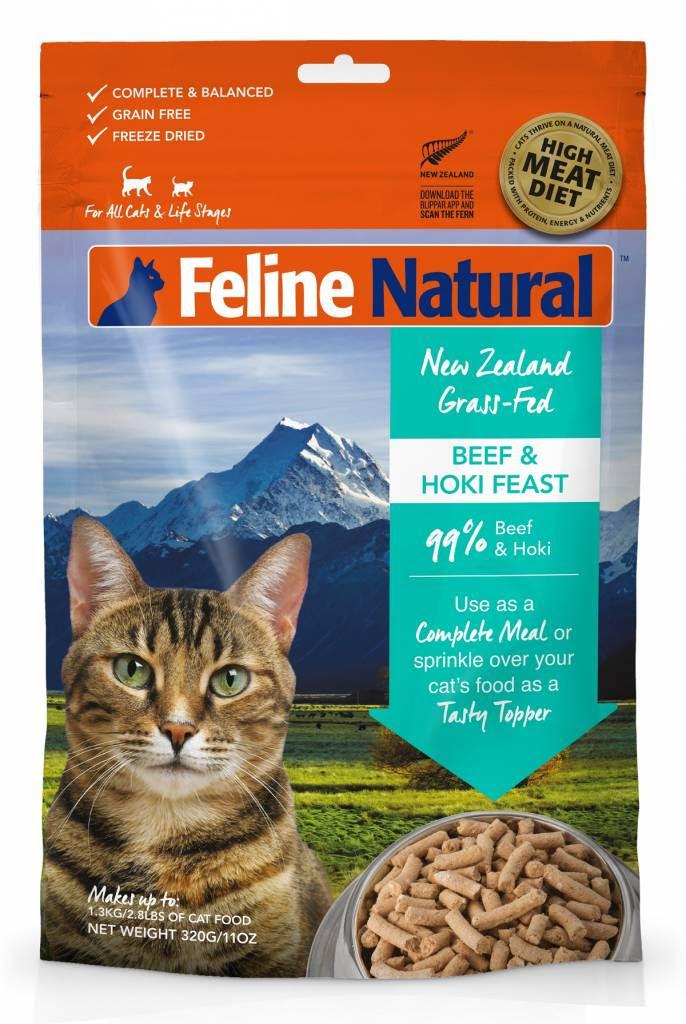 K9 Natural K9 Feline Natural-Freeze Dried Cat Food 320g - Unleashed