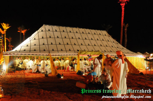 Moroccan Soireé (settings)