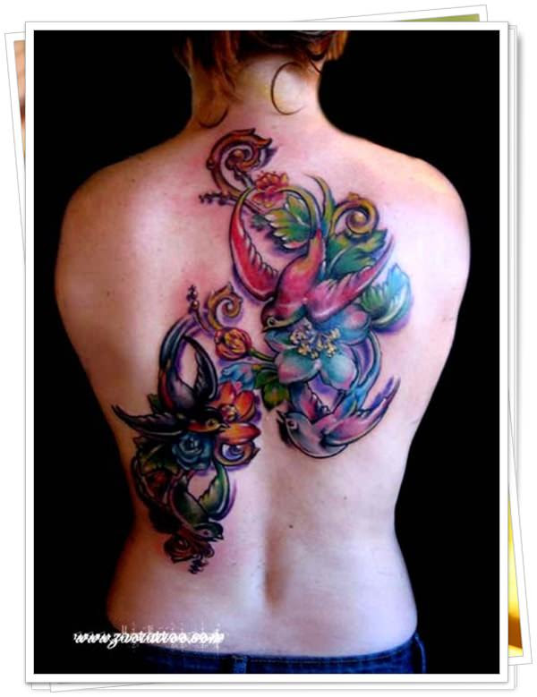 colored tattoos 9