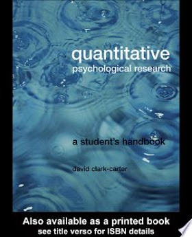 Book Quantitative Psychological Research