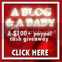3rd Blogoversary contest A BLOG & A BABY