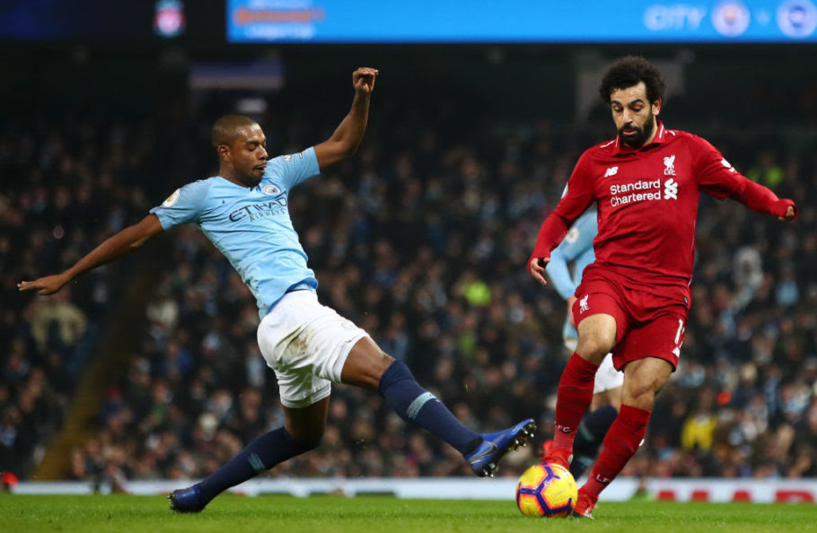 Manchester City v Liverpool Head to Head for the Premier ...
