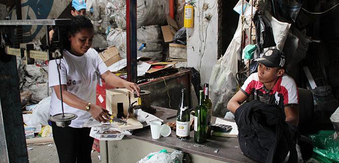 Mejorar la calidad de vida de los recicladores, una prioridad de cumbre internacional