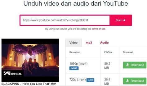 convert youtube  mp  aplikasi menggunakan ymate