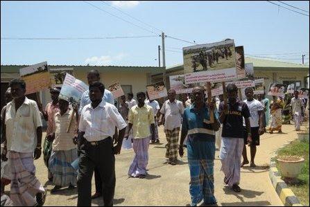 Protest against Kaarai-nakar rape