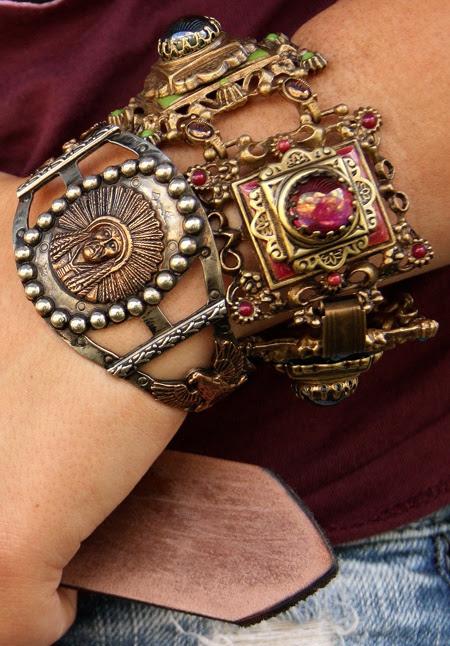 Vintage Bracelet - Junk Gypsy