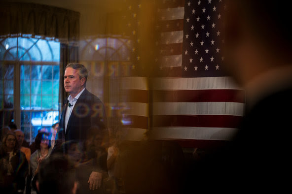 Jeb Bush at an event on Thursday in Rock Hill, S.C.