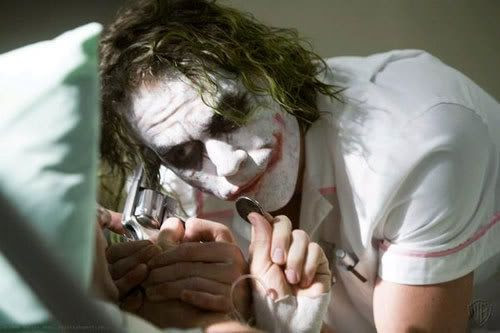 Heath Ledger won Best Supporting Actor for his role as The Joker in THE DARK KNIGHT.