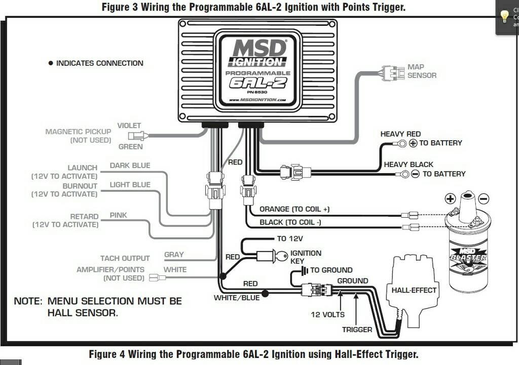 Msd Wiring Diagram Point Trigger