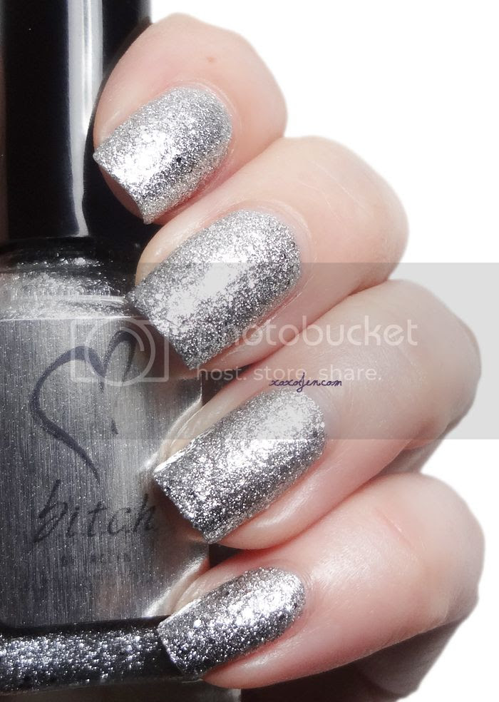 xoxoJen's swatch of b.i.t.c.h. by Jaclyn Get Your Own Damn Tiara