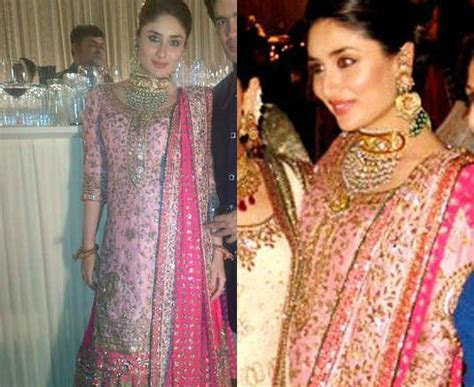 Kareena kapoor wedding dress   weddingcafeny.com