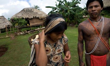 MDG : Panama Embera Indian