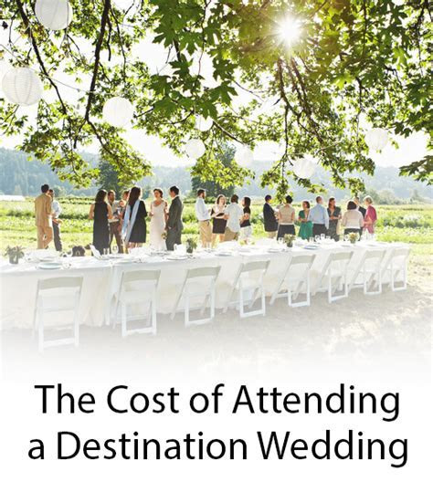 Average Cost of a Destination Wedding for Guests   InStyle