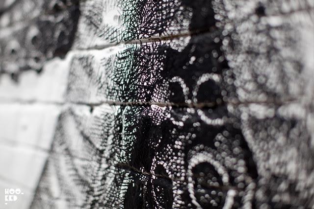 Alexis Diaz Elephant Octopus London Mural in Progress