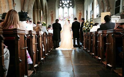 Church of England weddings up by 4% in 2010   Telegraph