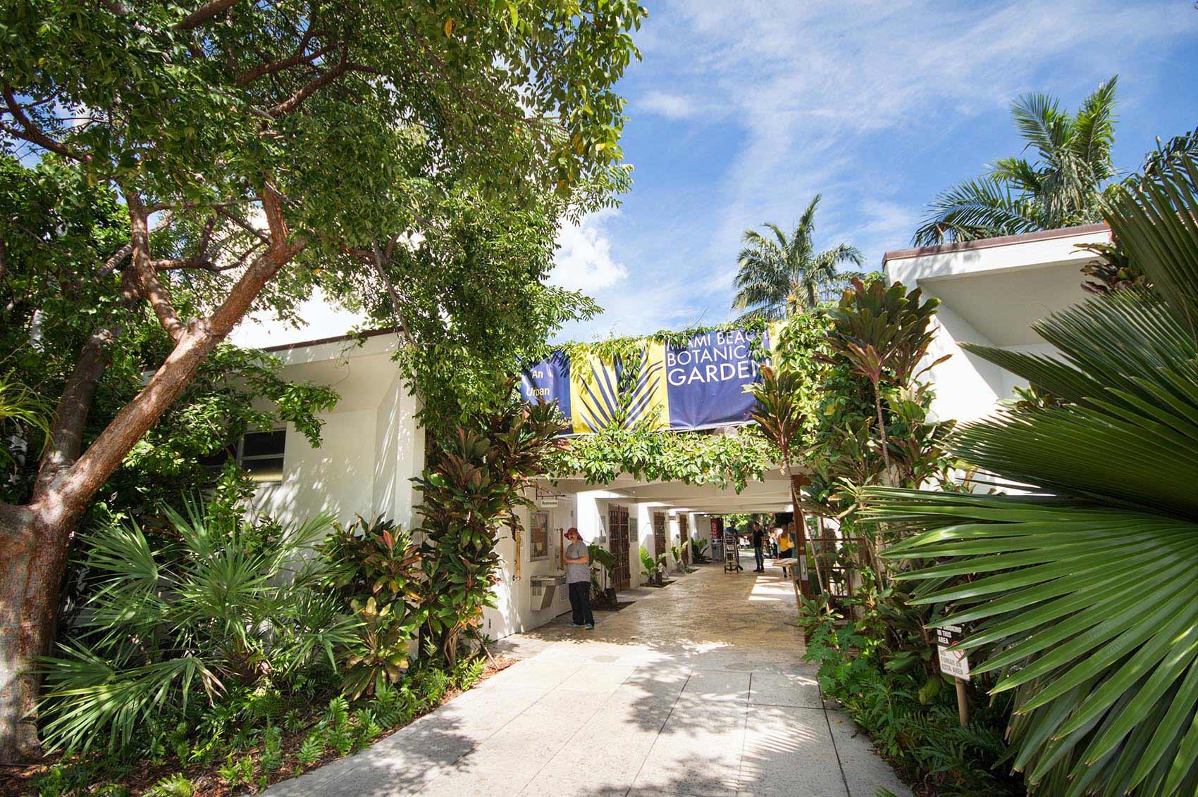 Miami Beach Botanical Garden Enjoy Miami Beach
