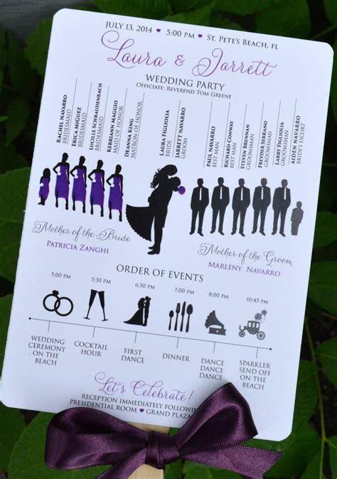Best 25  Wedding church programs ideas on Pinterest
