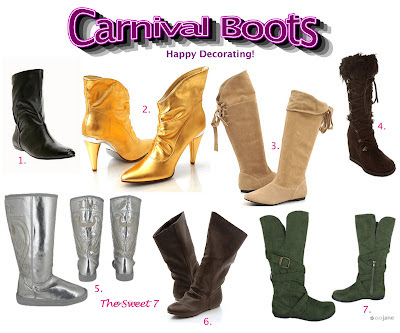 Do It Yourself Carnival Boots