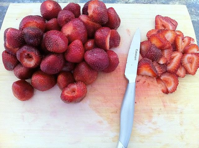 Slicing Srawberries