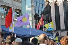 2014-10-05 Demonstration in Köln von Kurden gegen IS-Terror in Kobane (110).JPG