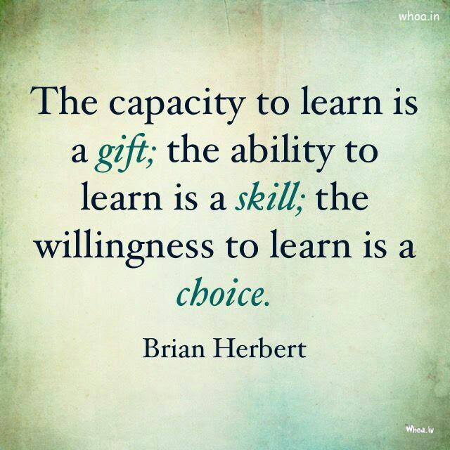 Image Of The Education Quote By Brian Herbert