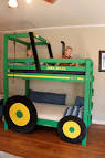 Tractor Bunk Beds For Your Boys. Bedroom Design. Cool Kids Double ...