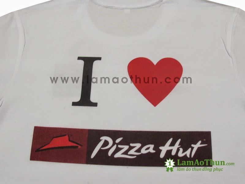 Áo thun I love Pizza Hut