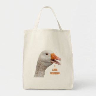 Grocery Bag: The Singing Goose bag