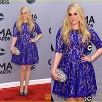 Royal blue plus size evening dresses
